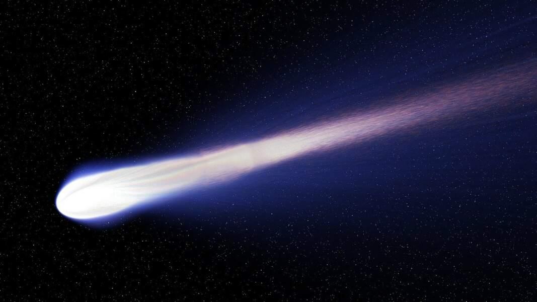 Les comètes sont des étoiles filantes