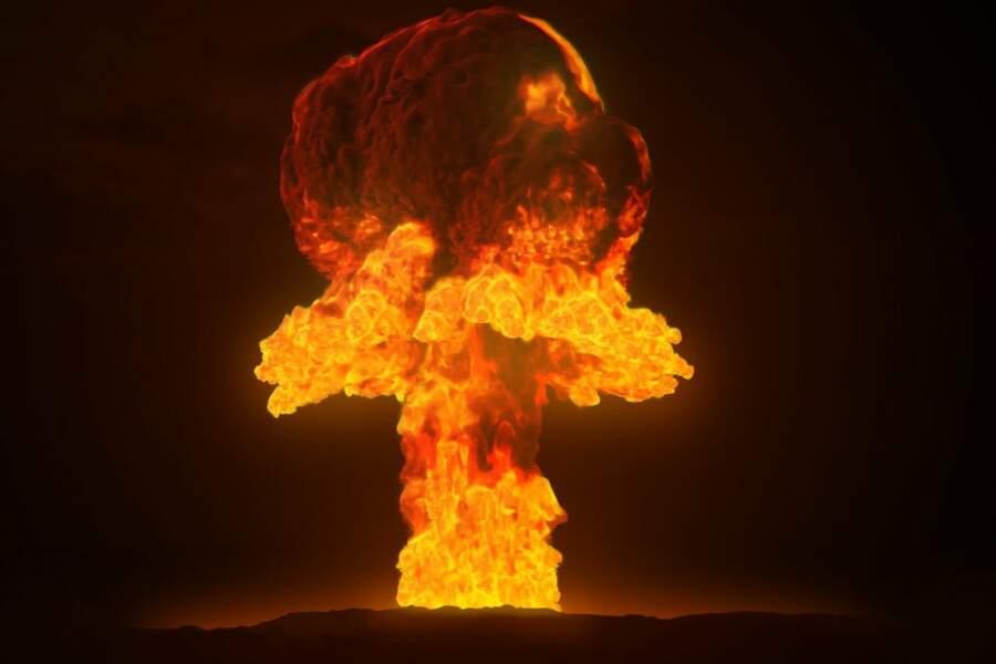 23 % Une guerre nucléaire