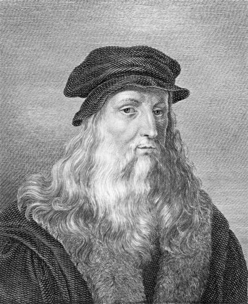 Léonard de Vinci aime être remarqué pour son look