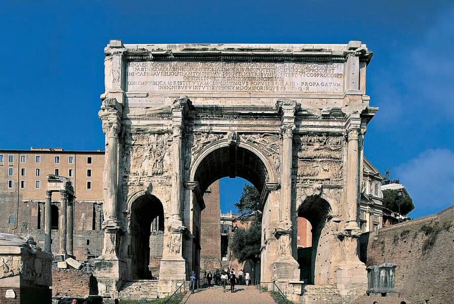Arc de Septime Severe à Rome