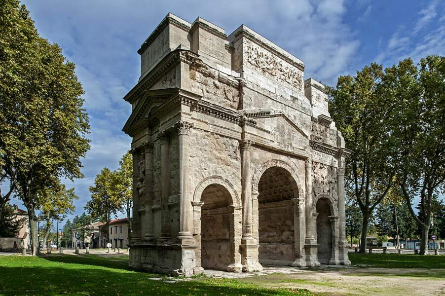 Arc de triomphe d'Orange (France)