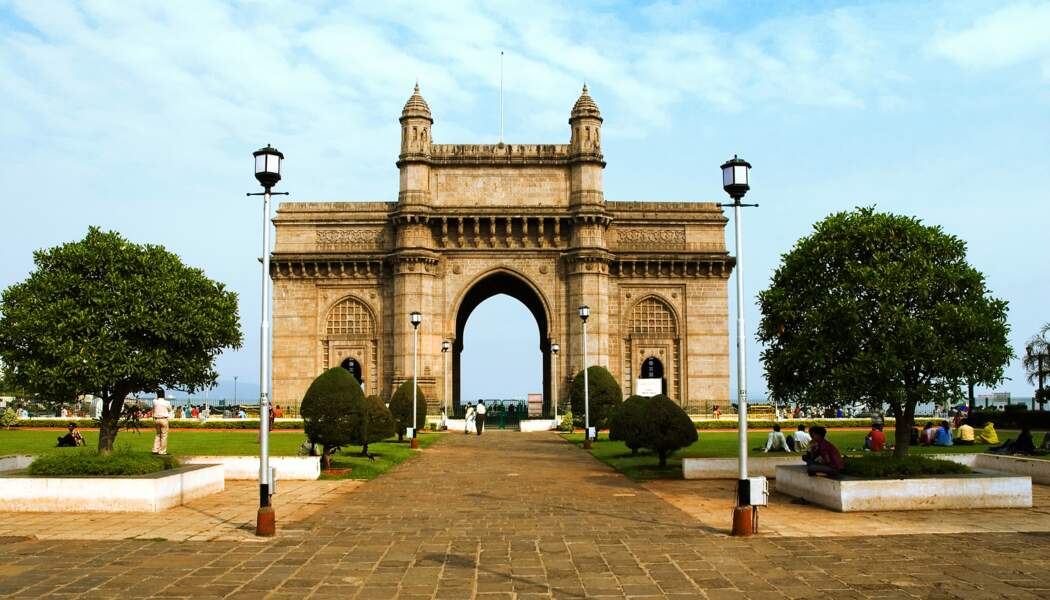 Porte de l'Inde à New Dehli