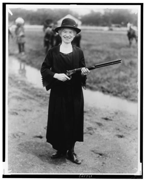 Annie Oakley, une virtuose de la carabine