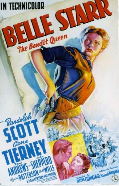 Belle Starr, la lady qui aimait les bandits
