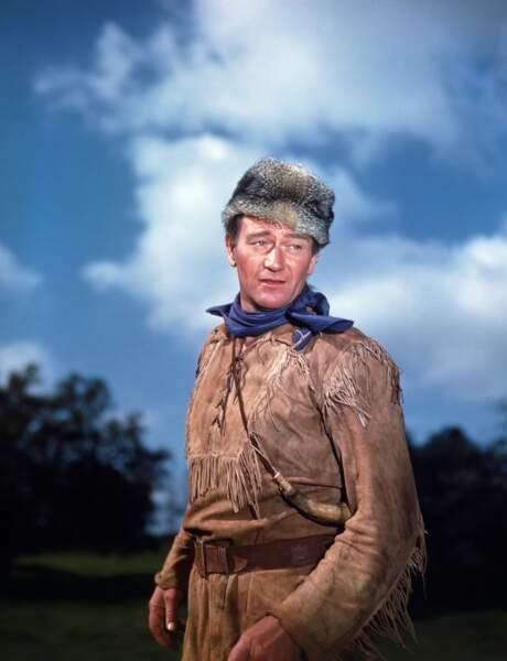 Davy Crockett visait la présidence des Etats-Unis