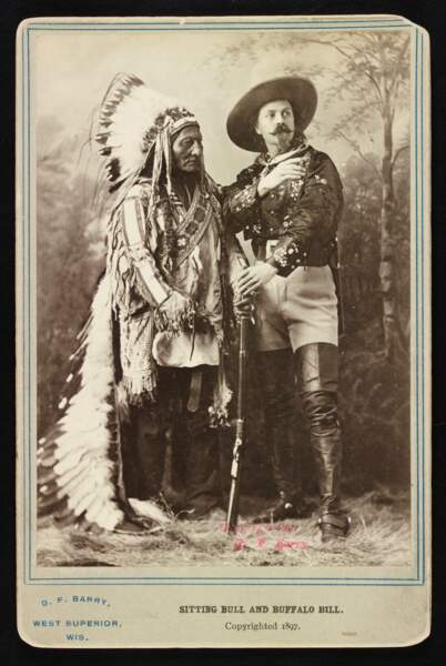 Buffalo Bill et Sitting Bull