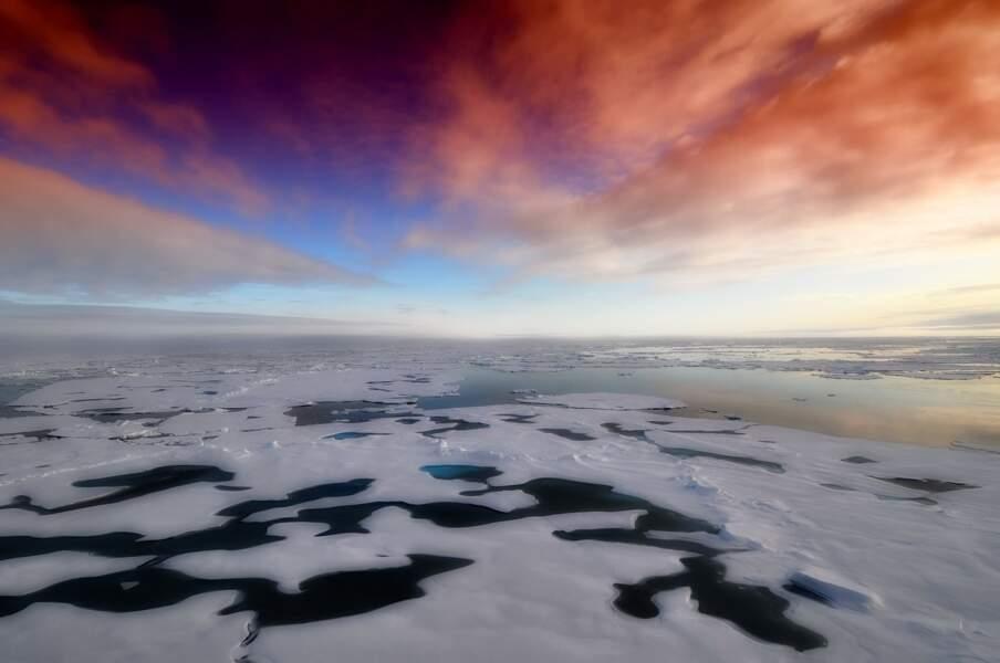 Arctique- 13 700 000 km²