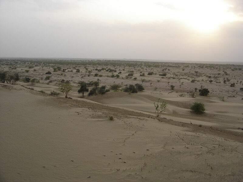 Désert du Thar- 200 000 km²