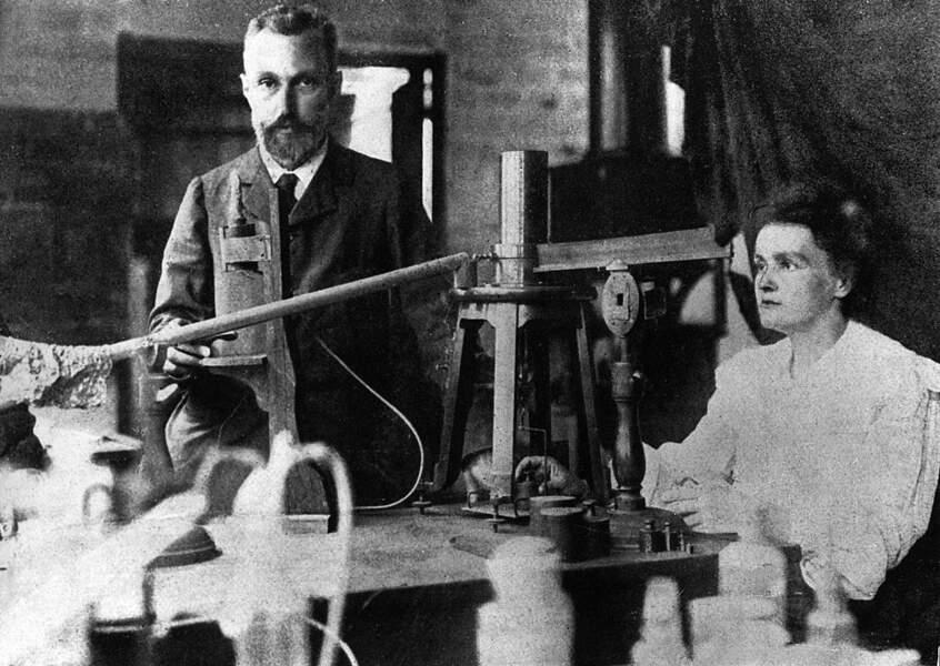 Elle fait mariner Pierre Curie