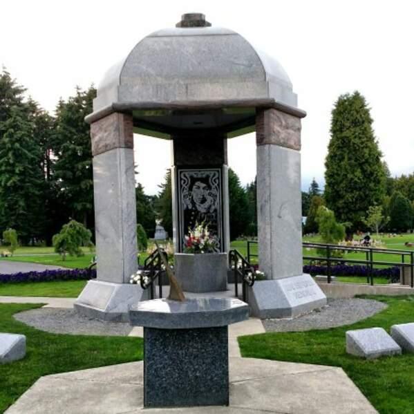 La tombe de Jimy Hendrix (Renton)
