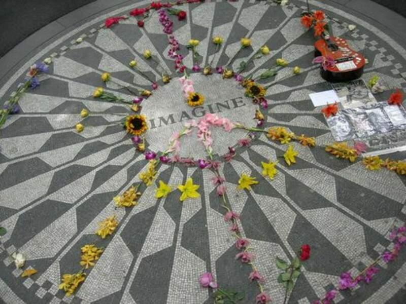 La tombe de John Lennon (New York)