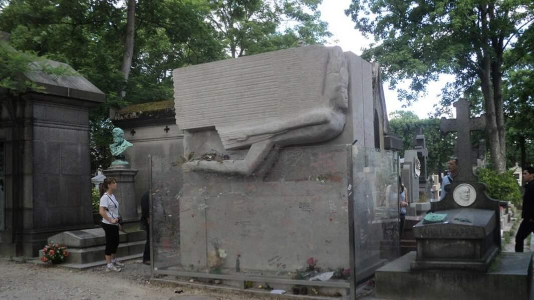 La tombe d'Oscar Wilde (Paris)
