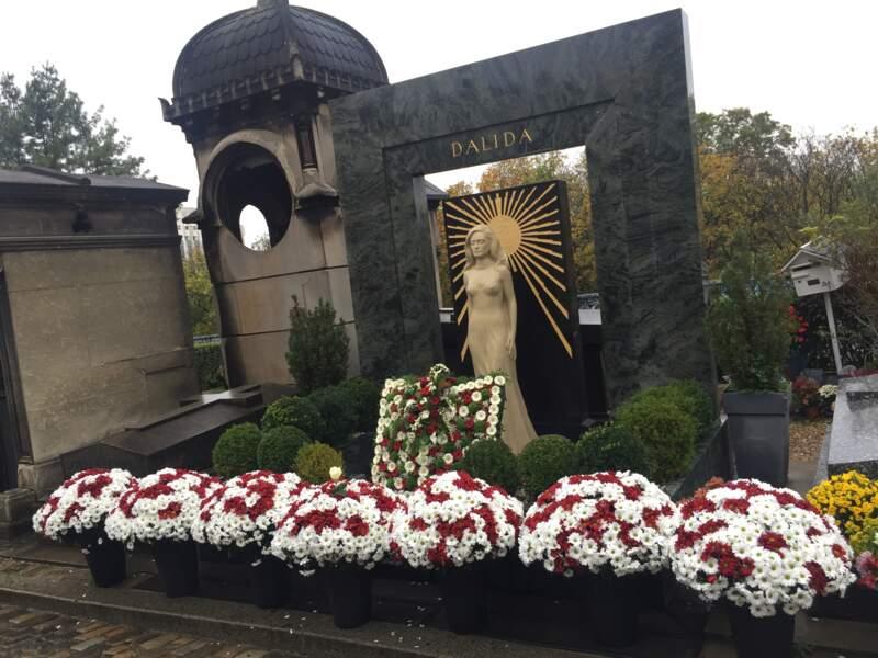 La tombe de Dalida (Paris)