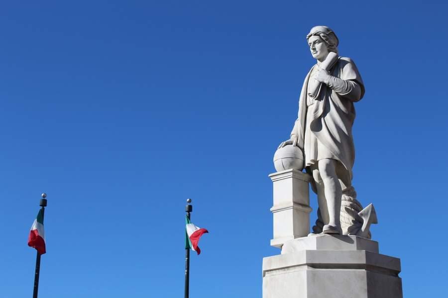 En 1658 pour Christophe Colomb