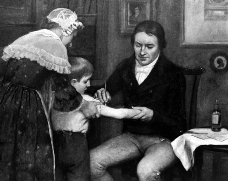 1796: Les premiers pas de la vaccination