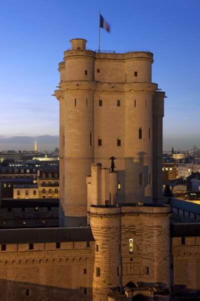 Un spectacle visuel au château de Vincennes