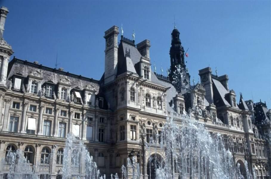 L'Hôtel de Ville de Paris en réalité augmentée