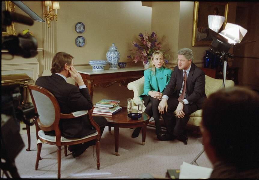 Bill Clinton dans la tourmente