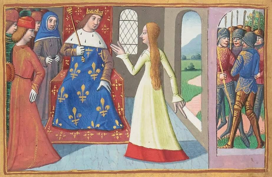 6. Durant toutes ses batailles, elle portait un habit d'homme
