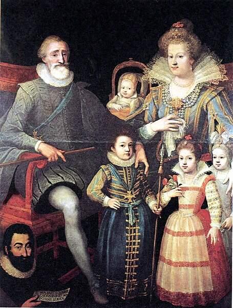 11. Pour le Dauphin, Henri reste en salle d'accouchement