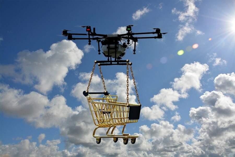 Privilégier la livraison à domicile par drone