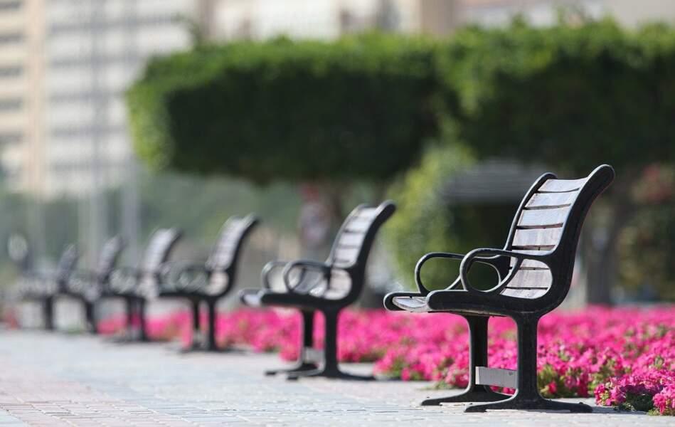 Supprimer ou exclure les installations qui encouragent la formation de groupes comme les bancs dans les parcs et les remplacer par des installations individuelles
