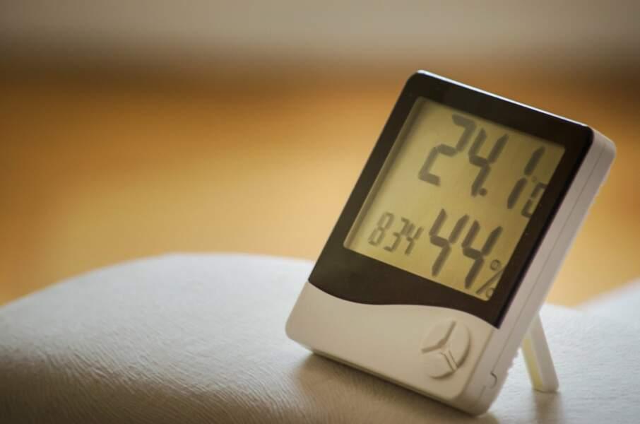 3 - Veillez au confort thermique de votre lieu de travail