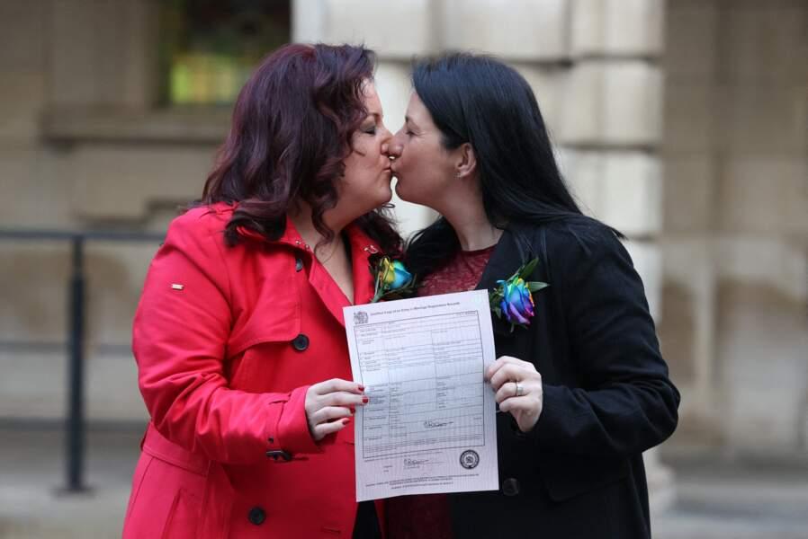 Le mariage entre personnes de même sexe adopté dans plusieurs pays