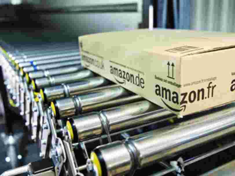 Amazon voit sa part de marché diminuer en France en 2020