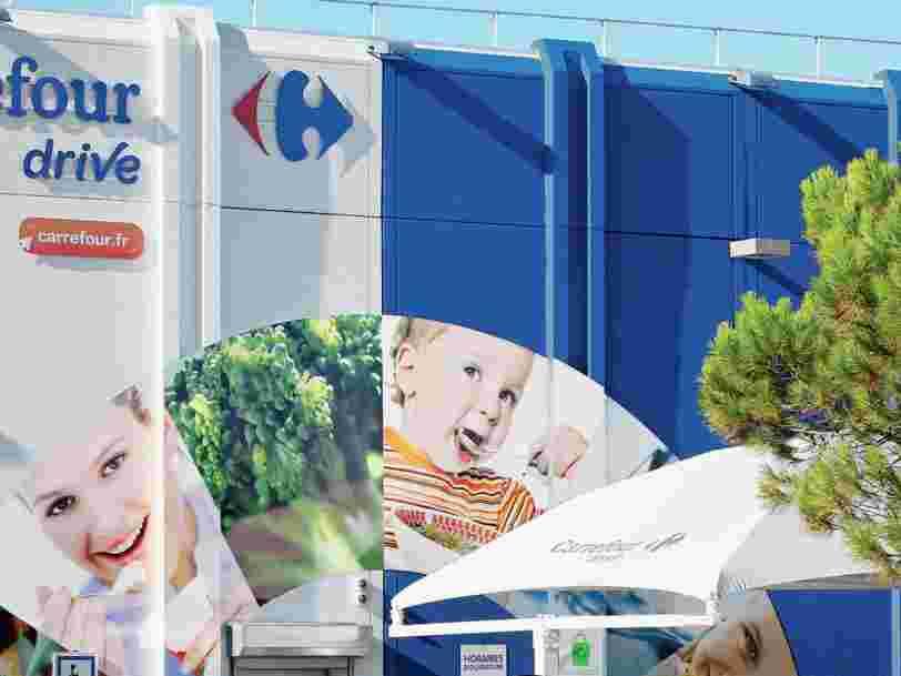 Carrefour écope de 3 millions d'euros d'amende pour des manquements sur le traitement de données personnelles