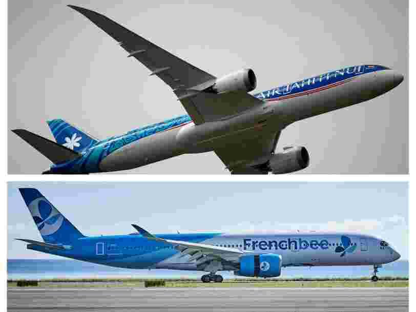 Voici comment les compagnies aériennes françaises s'adaptent pour voler vers Tahiti sans passer par les États-Unis