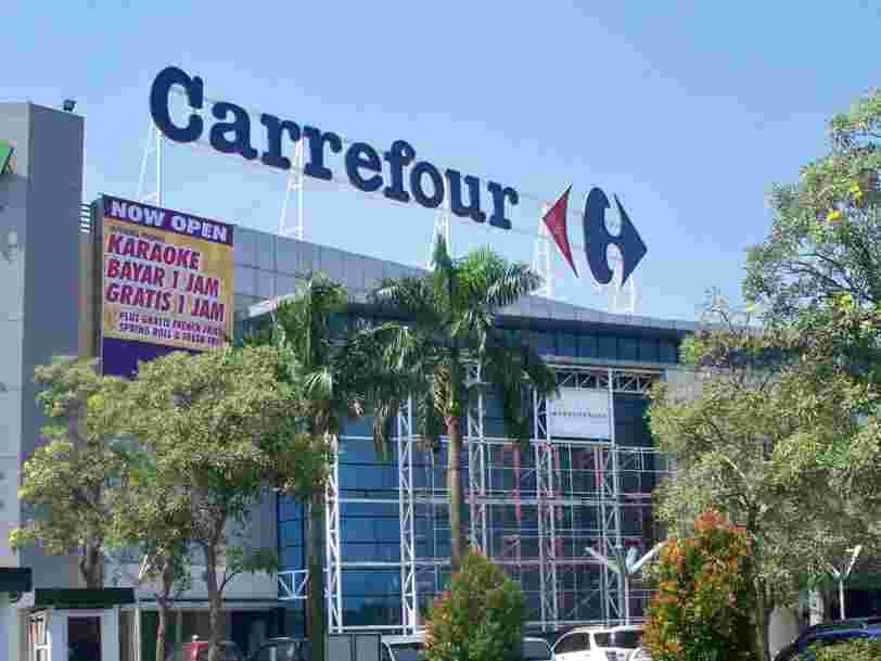 Carrefour promet d'embaucher nettement plus de jeunes en 2021