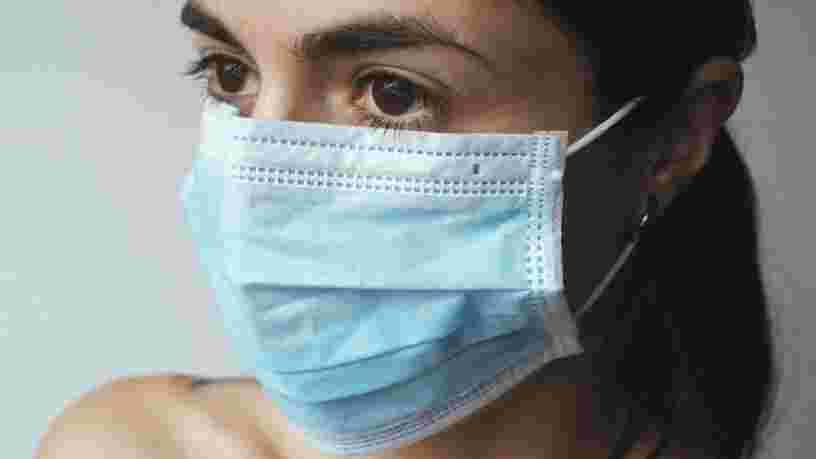 masque chirurgical anglais