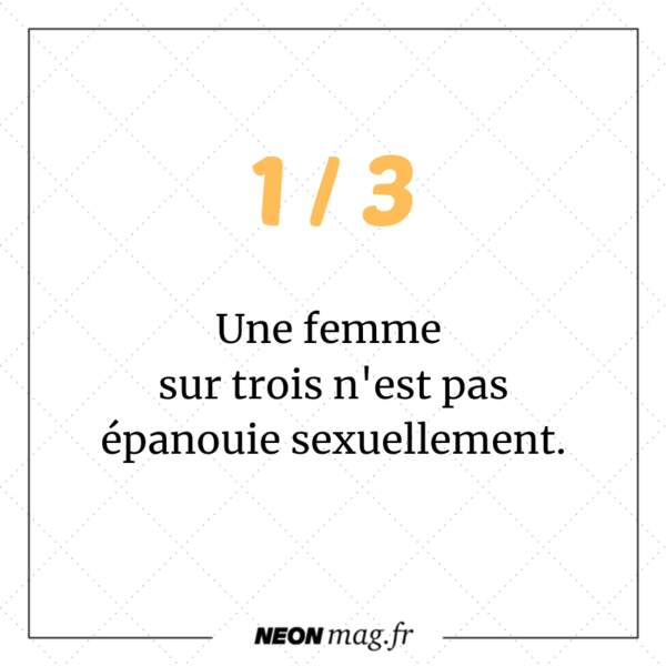 Une femme sur trois n'est pas épanouie sexuellement