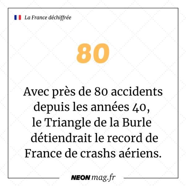 """Avec près de 80 accidents depuis les années 40, le Triangle de la Burle, aussi appelé """"Bermudes des Cévennes"""", détient le record de France de crashs aériens"""
