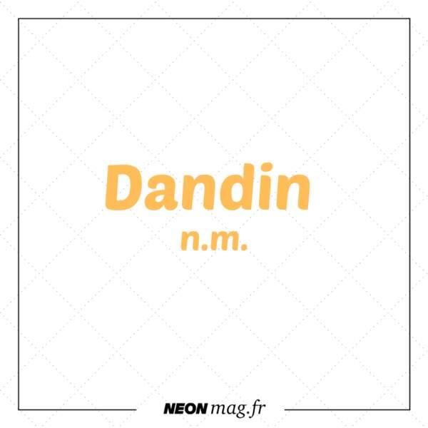 Dandin n. m.