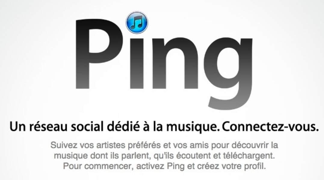 Ping, le réseau social d'Apple