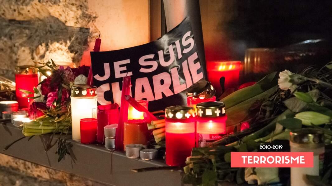 7 JANVIER 2015 • ATTENTAT CONTRE CHARLIE HEBDO