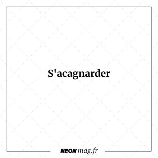 S'acagnarder