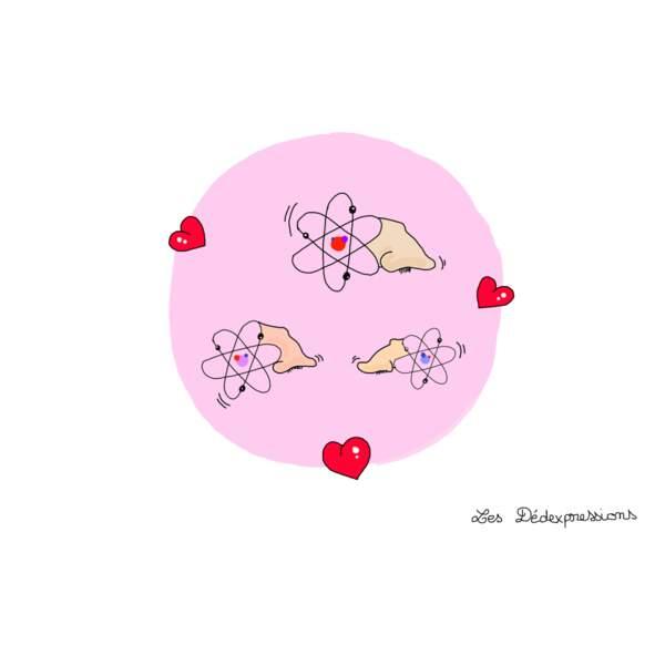 Avoir des atomes crochus