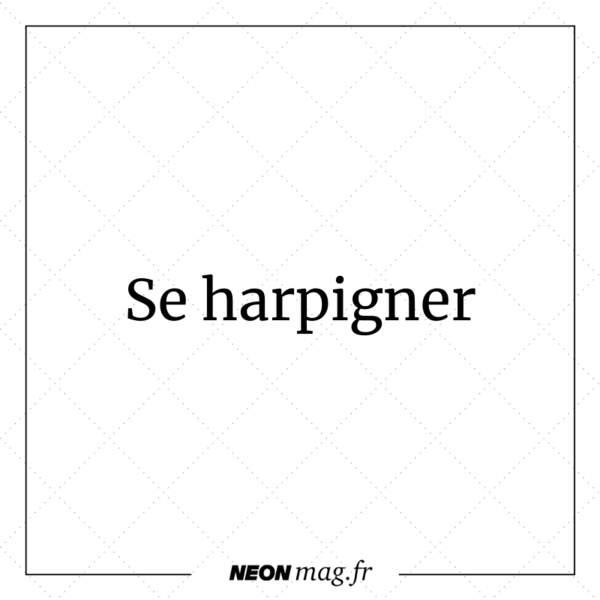 Se harpigner