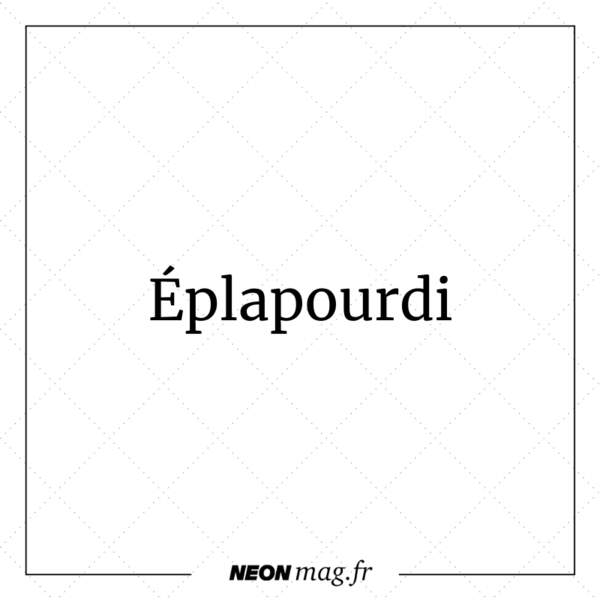 Eplapourdi