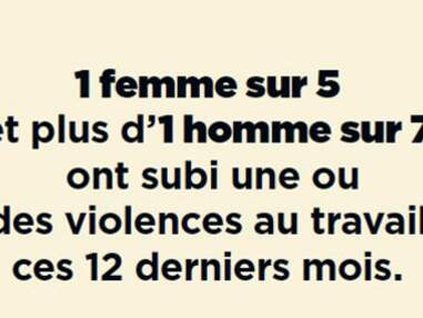La violence au travail en 7 chiffres