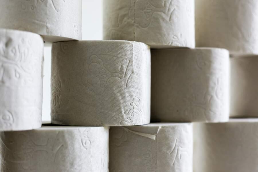 Qu'on peut faire plein de choses avec du papier toilette
