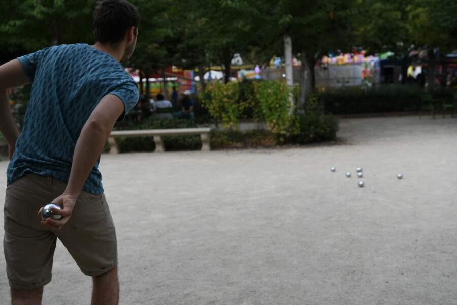 On joue aux boules depuis toujours