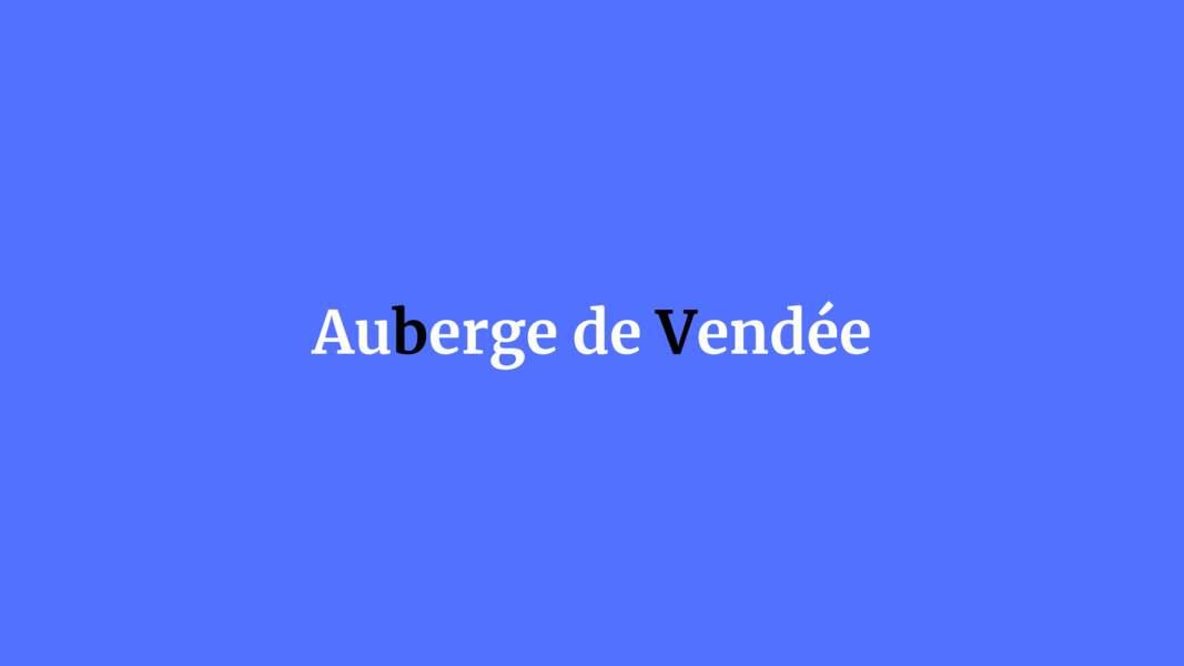 Auberge de Vendée