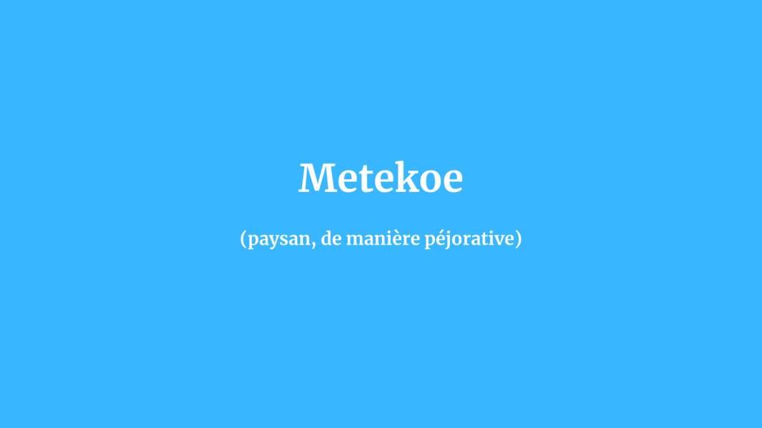 Metekoe