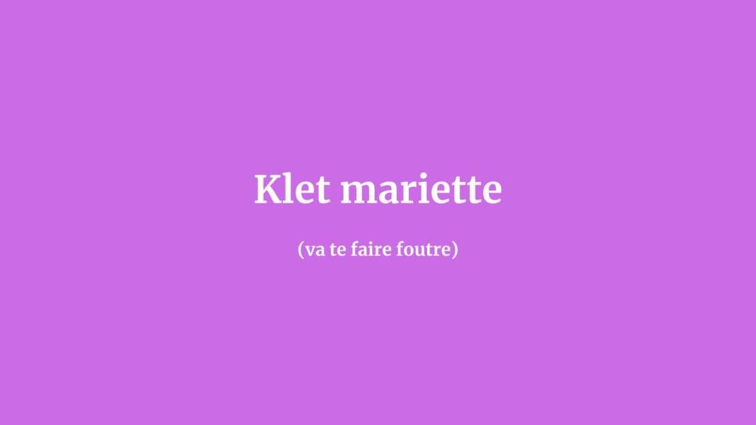 Klet mariette