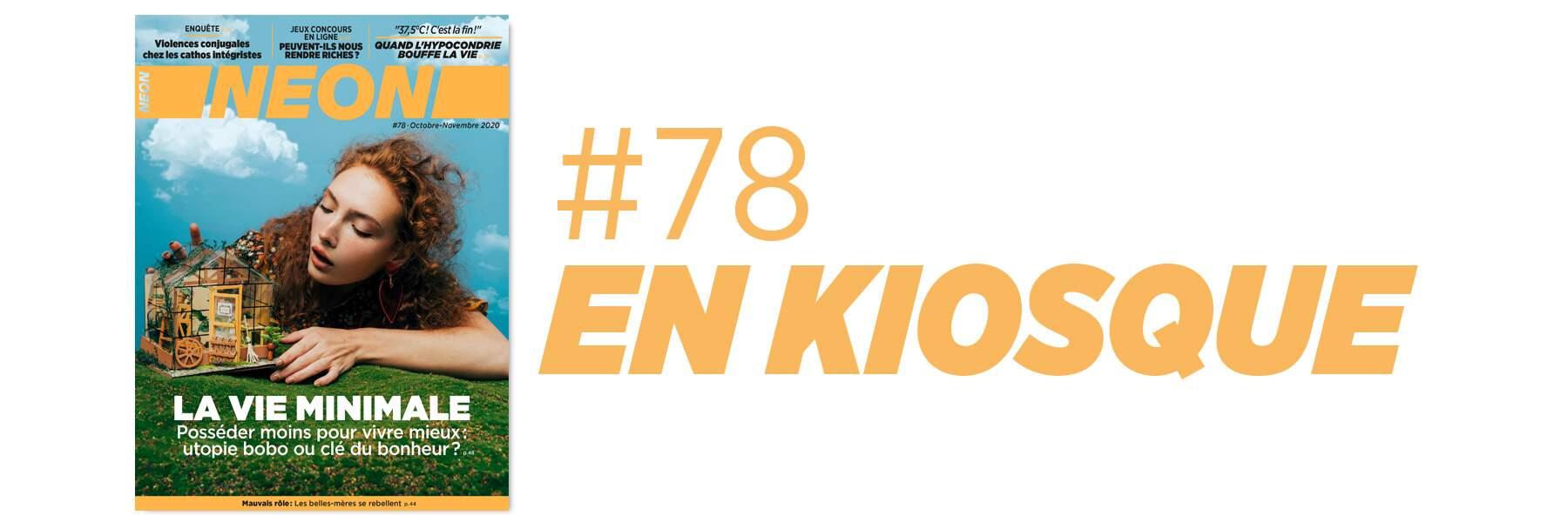 NEON #78 est en kiosque