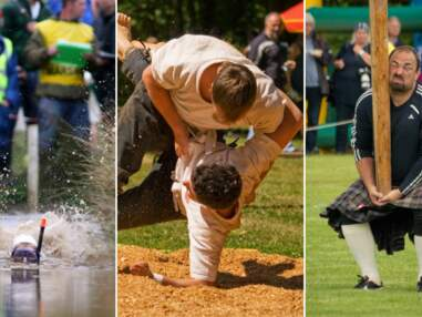 Tazer ball, lancer de thon, lutte de doigts... 25 sports méconnus qu'on aimerait bien voir aux JO